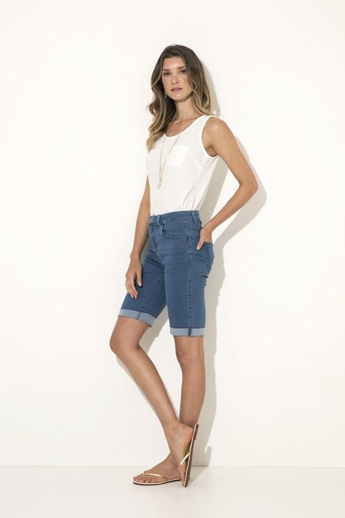 Bermuda Longa Jeans Clara