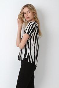Blusa Cachecoeur Zebra
