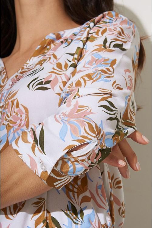 Blusa Detalhe Decote Viscose Soft Green