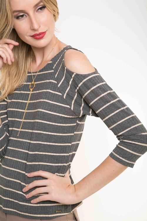 Blusa Stripes Ombros