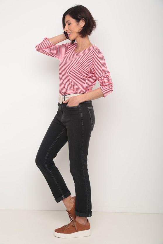 Calça jeans black slim escura