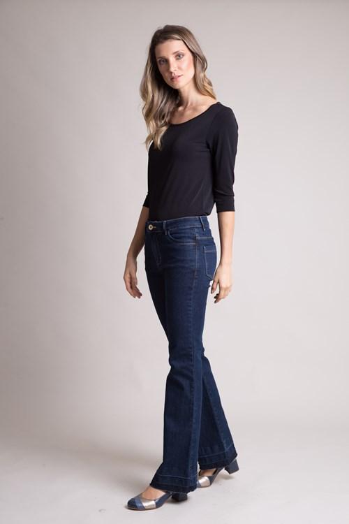 Calça Jeans Escura Bossa