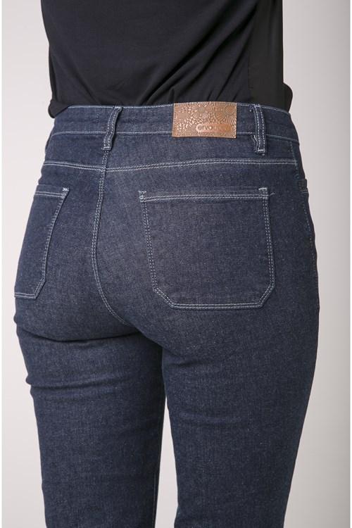 Calça Jeans Escura Pedal