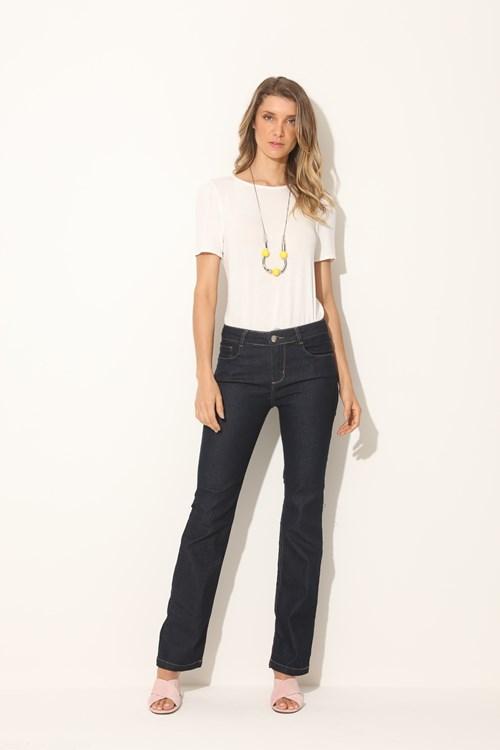 Calça Jeans Reta Felicity