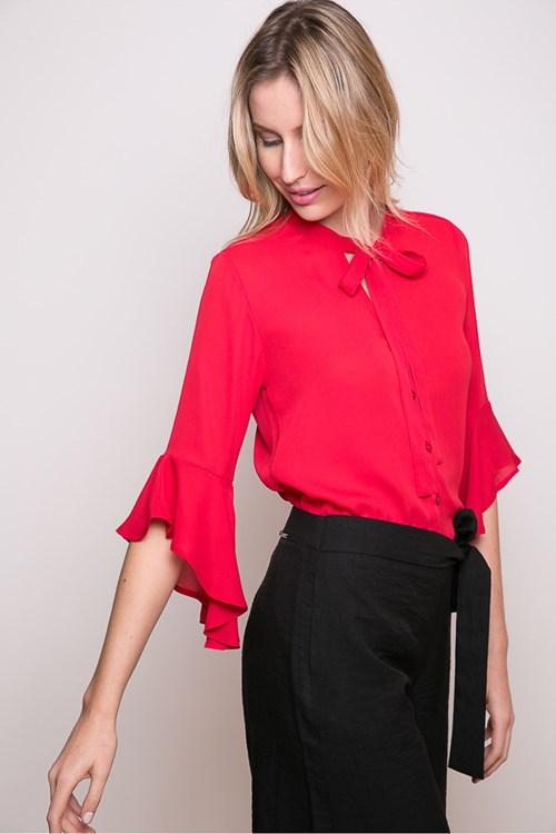 Camisa Lady Laço Sino