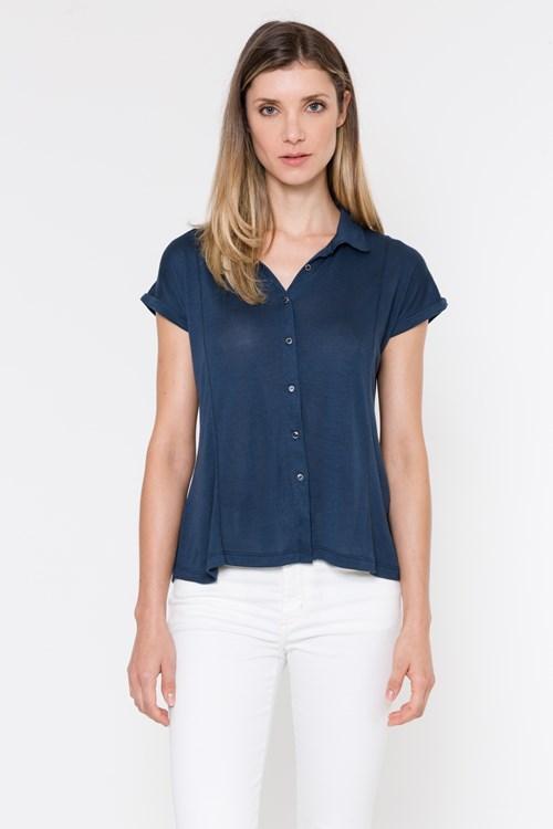 Camisa Malha Tricot