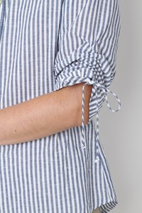 Camisa Manga 3/4 Rolote Listrado