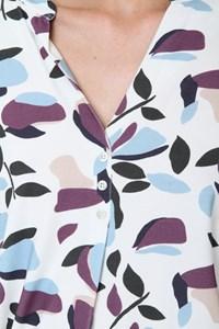 Camisa Meia Vista Prega Tulipa