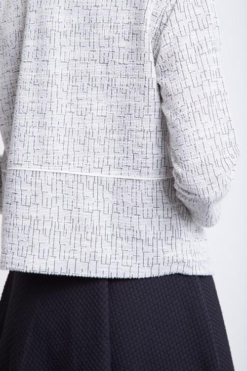 Casaqueto Sem Botão Tweed