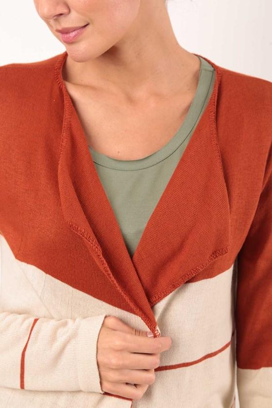 Cobertura listrada tricot mr raiz