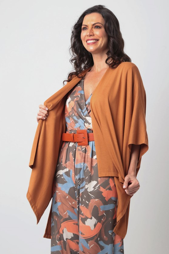 Produto Kimono Sem Cava Malha Texturizada