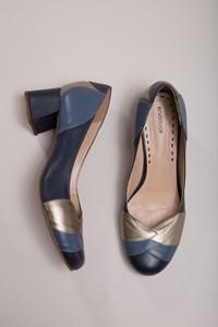 Sapato Fechado Camadas Bossa Nova