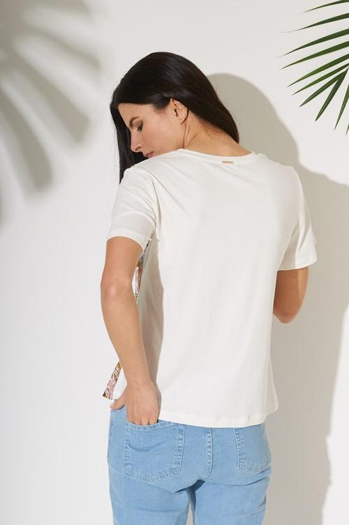 T Shirt Frente Viscose Soft Green